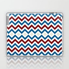 Nautical Chevron Laptop & iPad Skin