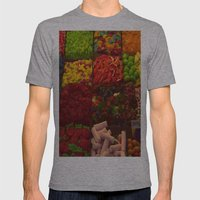 Colorful Candies Mens Fitted Tee Athletic Grey SMALL