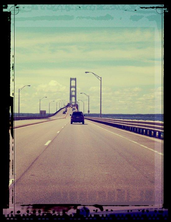 Michigan Road Trip Art Print