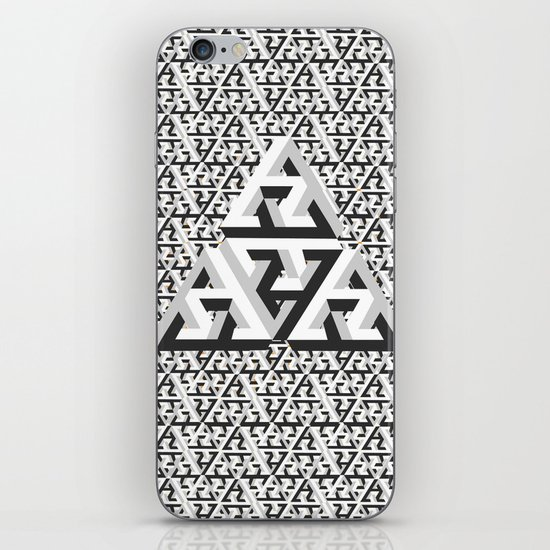 Escher Pattern iPhone & iPod Skin