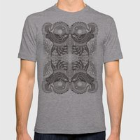 Janus Mens Fitted Tee Athletic Grey SMALL