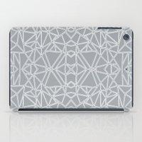 Ab Blocks Grey #3 iPad Case