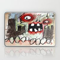 Zombie Surprise Laptop & iPad Skin