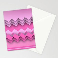 Zigzag paper dream Stationery Cards