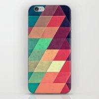 Xy Tyrquyss iPhone & iPod Skin