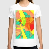 Tropical Farm 4 Womens Fitted Tee White SMALL