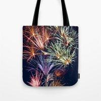 Sparkling City Tote Bag