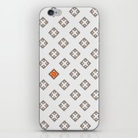 Orange in the city iPhone & iPod Skin