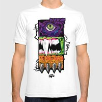 The Beasts Mens Fitted Tee White SMALL