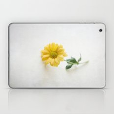 Yellow Flower StillLife Laptop & iPad Skin