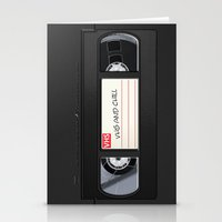 VHS and Chill Stationery Cards
