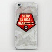 STOP GLOBAL MING ! iPhone & iPod Skin
