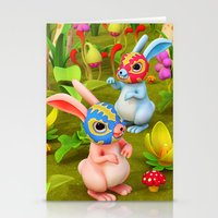 Lucha Brothers Stationery Cards