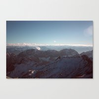 Alps Mountain Germany Co… Canvas Print