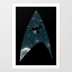 Space the final frontier Art Print