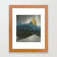 Artificial Landscape 1 Framed Art Print
