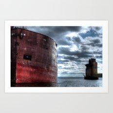 'Big Boat' Art Print
