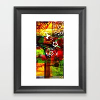 Oiseau City Framed Art Print