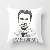 Team Crosby Throw Pillow