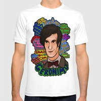 The 11th Doctor Mens Fitted Tee White SMALL