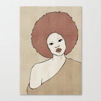 Female Three Canvas Print