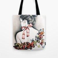 L'effet papillon Tote Bag