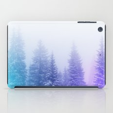 Blue and Purple Pines iPad Case