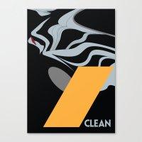 Drive - Clean Canvas Print