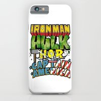 iPhone & iPod Case featuring The Avengers by DeMoose_Art