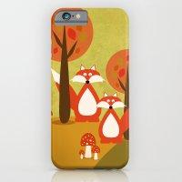 iPhone & iPod Case featuring Fox by Norita