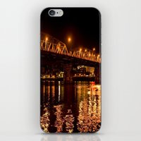 Hawthorn Bridge iPhone & iPod Skin