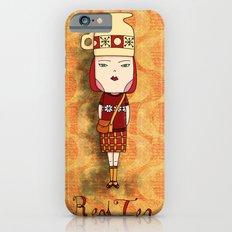 Red Tea Girl iPhone 6s Slim Case