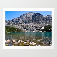 Phantom Lake Art Print