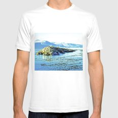 Magnificent nature. Mens Fitted Tee White SMALL