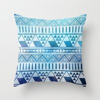 Tribal Vision. Throw Pillow