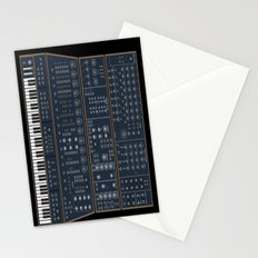 Modular Synth Stationery Cards