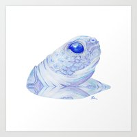 Snappy Sam - Drawing Art Print