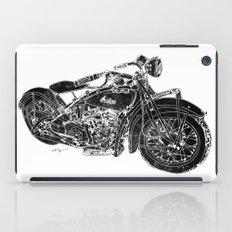 Vintage Indian Motorcycle iPad Case