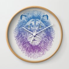 Face of a Lion Wall Clock