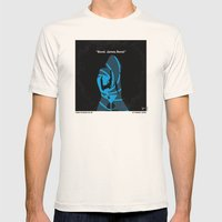 No277-007 My Dr No minimal movie poster Mens Fitted Tee Natural SMALL