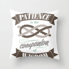 Patience Throw Pillow