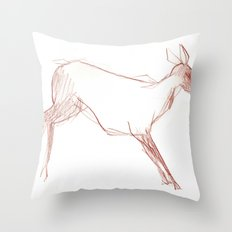 Little Doe Throw Pillow