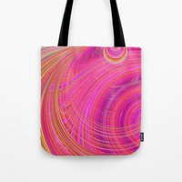 Re-Created  Hurricane 6 by Robert S. Lee Tote Bag