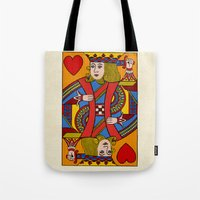 Tote Bag featuring King of Hearts by Megs stuff...