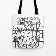 Coatlicue Tote Bag