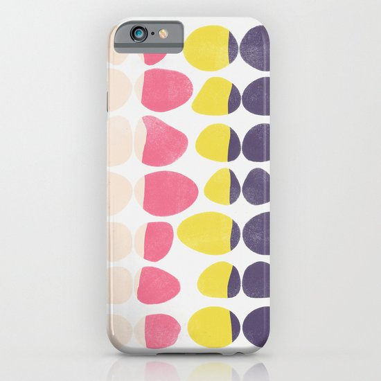 Painted Pebbles 3 iPhone & iPod Case