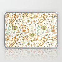 Little Creme Garden Flow… Laptop & iPad Skin