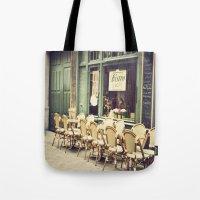 Le Petit Café Tote Bag