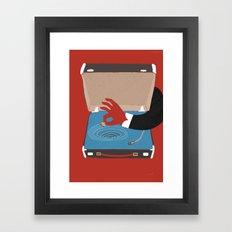 Vintage Whirl Pool Framed Art Print