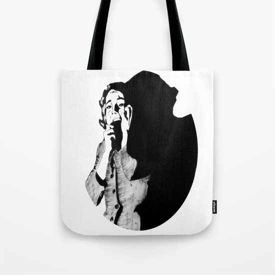 Lila Crane Tote Bag